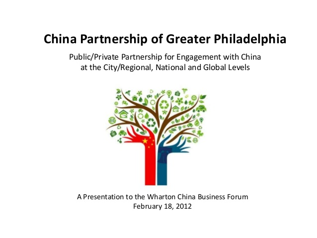 Cooke's Wharton China Business Forum presentation